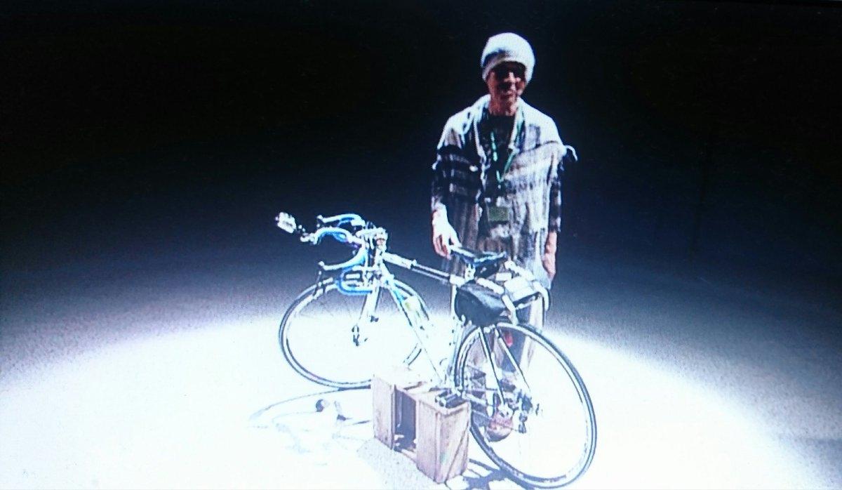 test ツイッターメディア - 2012初春の火野正平さんとチャリ男くん(トマジーニ)。  もしも、現在(いま)放送はじまるとしたら、やっぱりクロモリなのかな?  グラベルロード、って選択は?  どーでも良い思索的w https://t.co/8rnpovcZin
