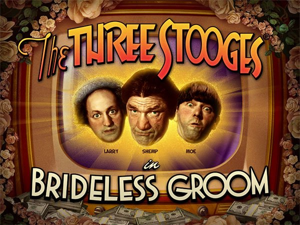 Spin and laugh the days away with the fun Three Stooges #Slot #games!  #casino #slots #igaming #bitcoincash #litecoin #neosurf #rtgcasino