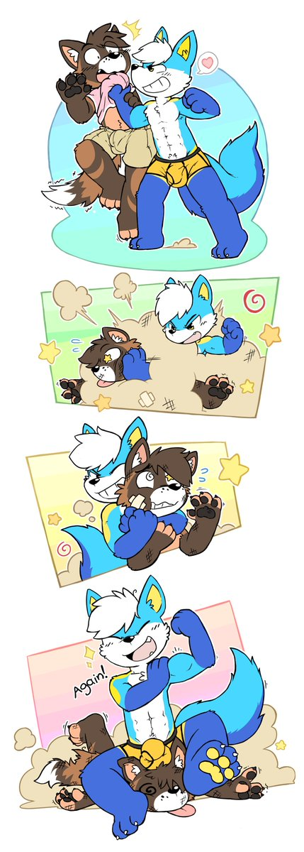 RT @00bounds: Tried my hand at a comic commission, for @PupperDoggo https://t.co/wMqVXHgsdZ