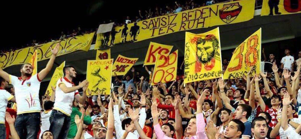 RT @FcKayserispor: #BugünGünlerdenKayserispor #Kayserispor  #ErciyesinKurtları  #KapalıKale  #SonSayfa https://t.co/HI2bs6UqMN