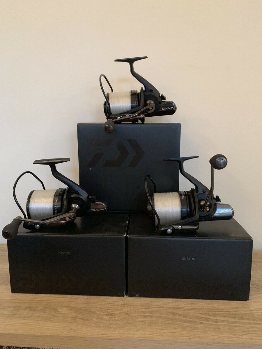 Ad - Daiwa Basia Custom Reels On eBay here -->> https://t.co/cd8OOFbcTw  #carpfishing https://