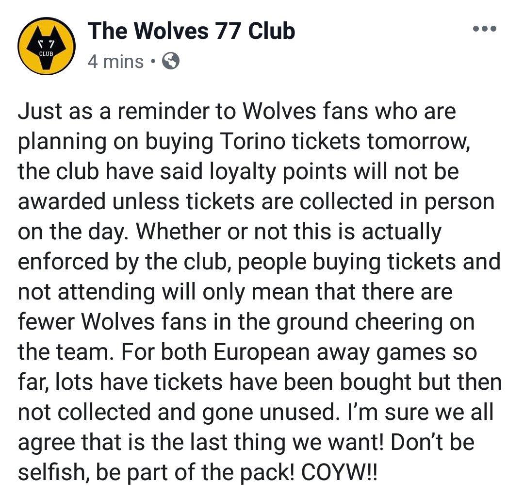 #wwfc #Wolves #Torino https://t.co/SLFrBehEX6