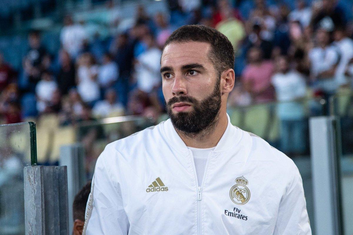 RT @MadridTeam_: C'est désormais officiel, Dani Carvajal ne pourra pas jouer demain, contre le Celta. https://t.co/aSMUNLyvTB