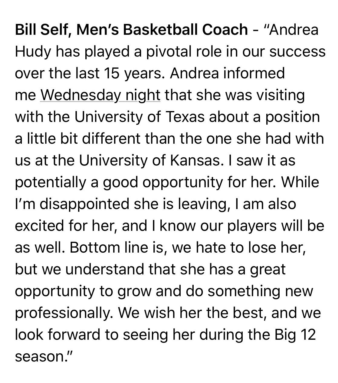 Quotes & reaction from #Kubball on Andrea Hudy's departure from the program... https://t.co/qItM3ni32v