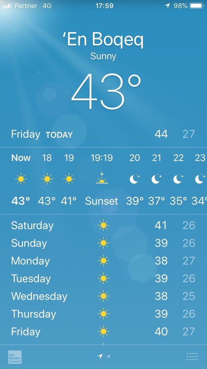 test ツイッターメディア - みて、今日の中東の気温。 https://t.co/4cPtH2E8wp