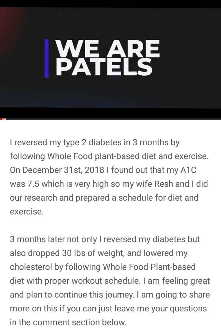 test Twitter Media - Check out Abhijit's storywhere  he lost 30lbs in weight and reversed his type-2 diabetes using a whole food plant based diet in just 3 months. Simply amazing! #plantbased #vegan #wholefoods #health #nutrition #type2 #diabetes @thepatelsusa  https://t.co/8h1xSuu74Z https://t.co/aC63QycWpf
