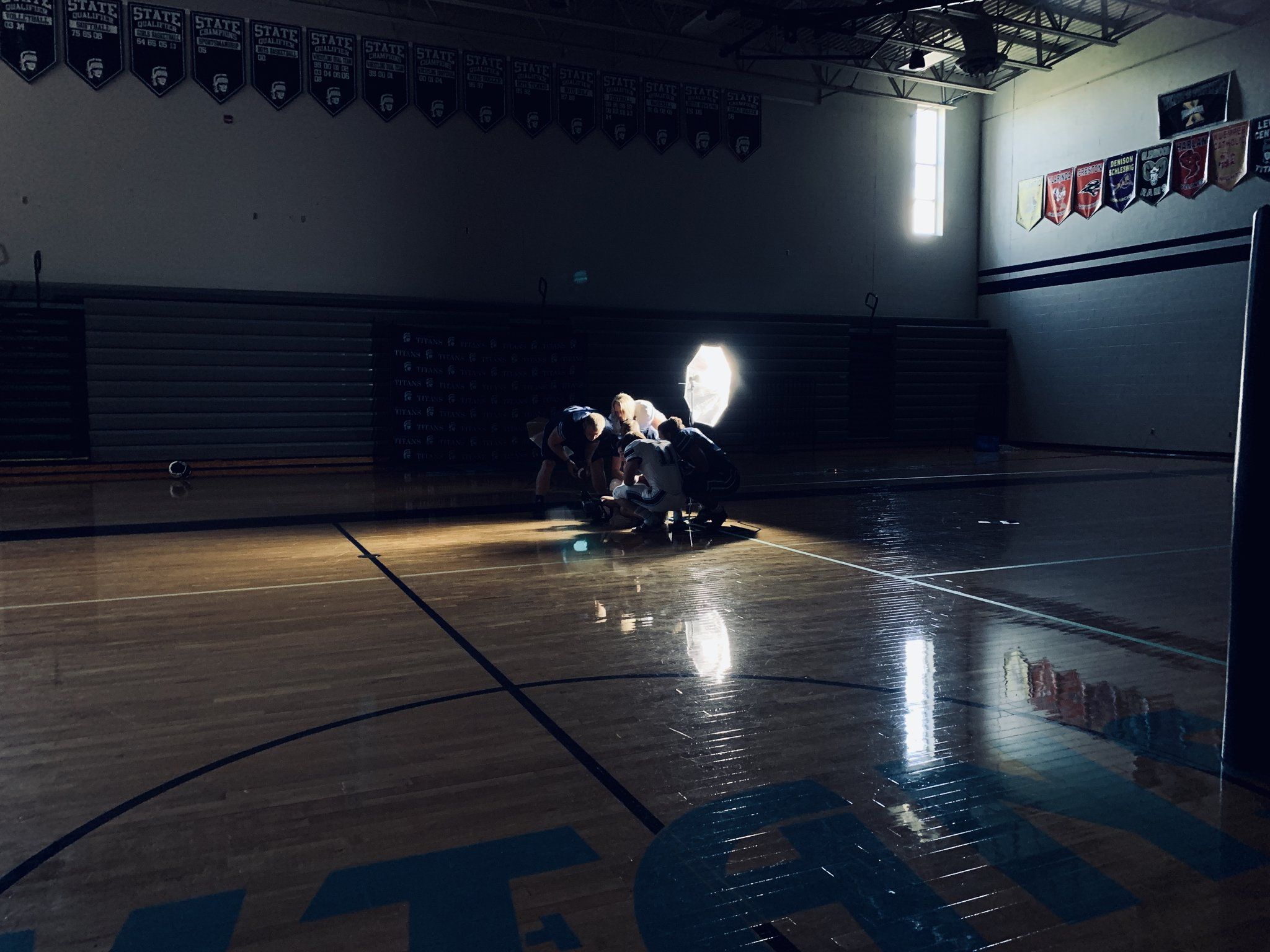 Great afternoon getting the @lc_ftbll captains in front of the camera. #LCTitans https://t.co/s4zH7ltqtu