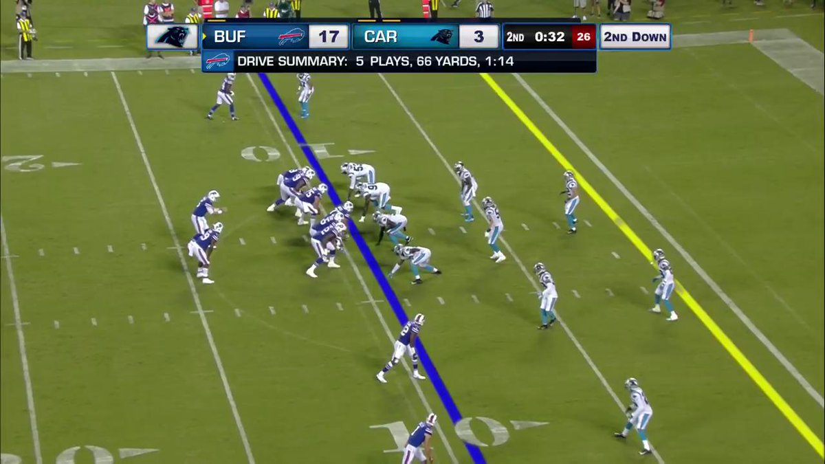 Loved this catch from Duke Johnson tonight, who seems to replace Cam Phillips in terms of reps https://t.co/99YQsEQGDL