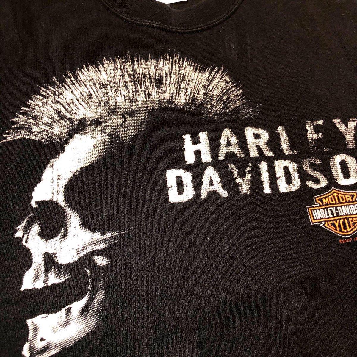 test ツイッターメディア - Harley-Davidson Tee  人気のハーレーTee ミニマムサイズ入荷しました🙌🏻  8月17日(土) 13:00-21:00 あやこがお待ちしております🤗  🔥真夏のCatalyst🔥 イベント開催中 8月10日(土)〜8月18日(日) 3,000円OFF or 30%OFF☝️ & 古着屋のサマージャンボ宝くじ🌊  #静岡 #古着 https://t.co/Nk01KENqLD