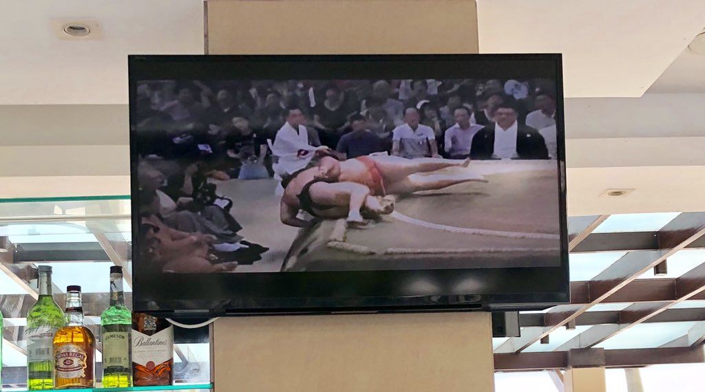 test ツイッターメディア - 海外で観戦する名古屋場所、豪栄道 vs 魁聖の一番。相撲中継がストリートファイター風でエドモンド本田にしか見えない。 https://t.co/jjrX9vWjoK