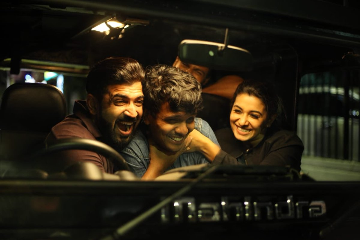 That's a wrap for me! @arunvijayno1 @karthicknaren_M #mafia you guys will be missed immensely 🤗🤗 and Mafia will remain close to my heart for so many obvious reasons! Love you all ❤️