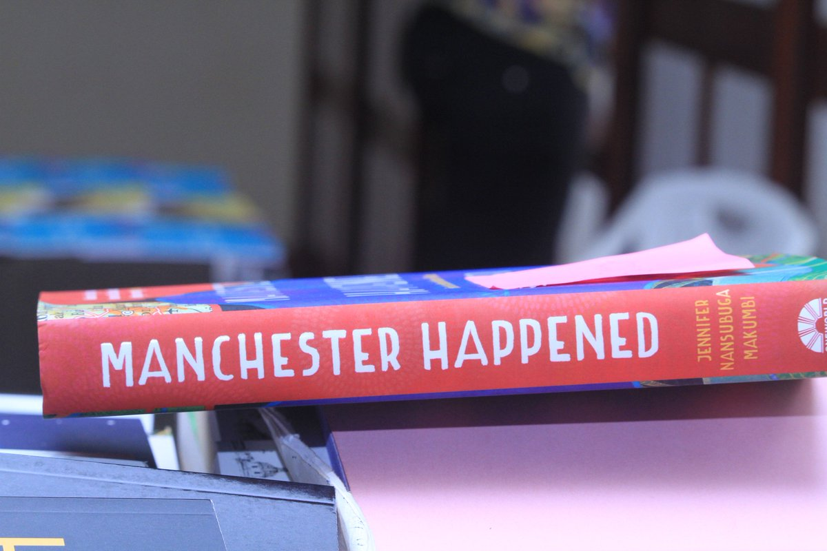 RT @BookwormUG: #ManchesterHappened officially launched in Uganda during #Writivism2019 #UnbreakableBonds https://t.co/KvZZwQ6QiZ