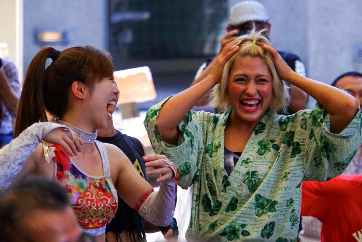 test ツイッターメディア - 2019.08.17 アイスリボン夏祭り2019 in 上野 〜 アジュールレボリューションプロデュース興行  この前髪アップヘアは可愛い✨  #iceribbon #はっぴぃかめら https://t.co/KAYaAbFMVu
