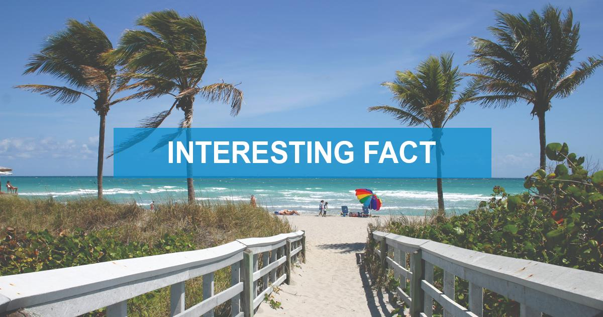 Florida has the lowest percentage of people born in the state who now live there🤔  #interestingfact #florida https://t.co/kP6MJ12vcm
