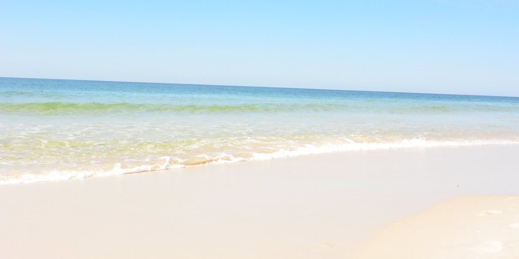Paradise found. What state do you travel from to reach Alabama's beaches?