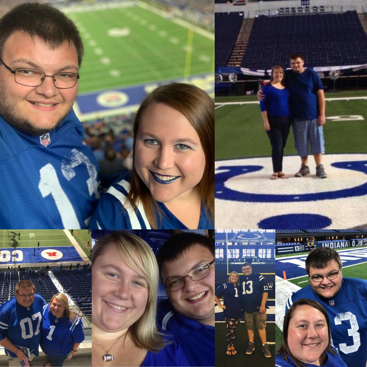 Our 6th season in love 💙 with each other and the @Colts! #ColtsStrong #ColtsForged #CLEvsIND https://t.co/b0jBJgvI9N