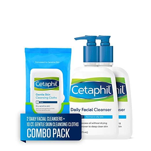 Grab a Cetaphil Daily Facial Cleanser Pack for $17.49!  Clip the coupon!!!
