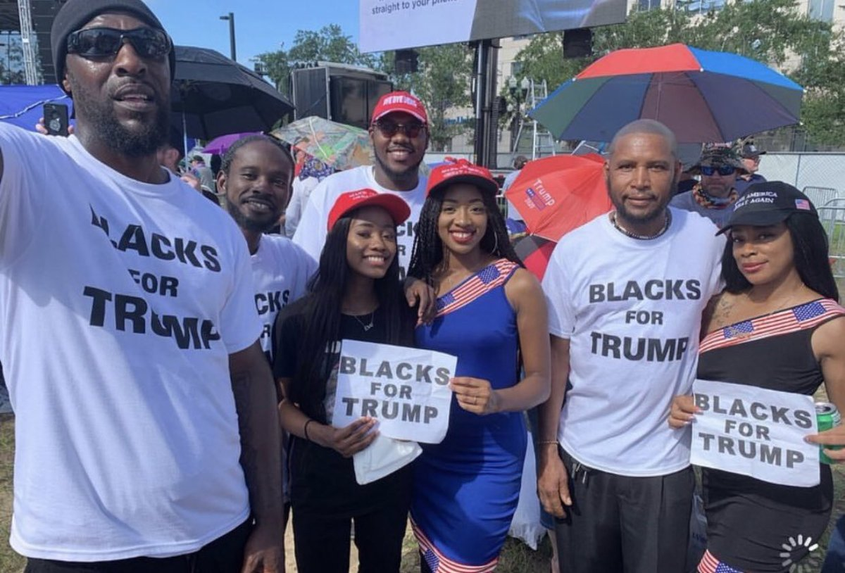 Blacks For Trump, WE DO EXIST!