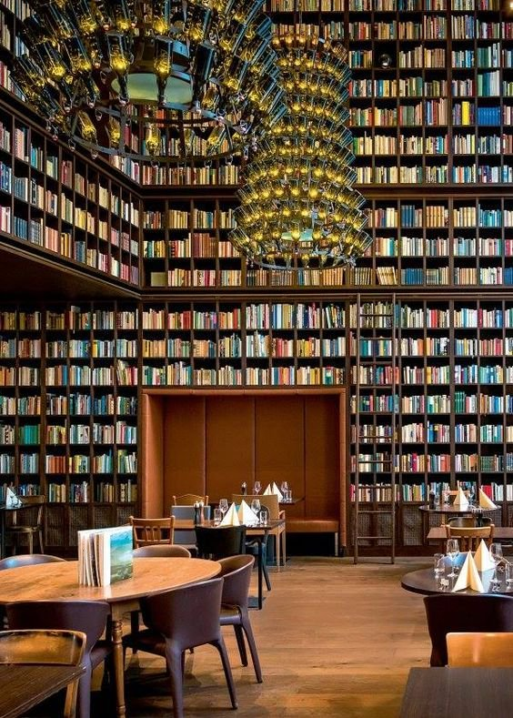 RT @thelaceylondon: When a bookworm opens a restaurant...  #amwriting #amreading https://t.co/yKMwVzXtLJ
