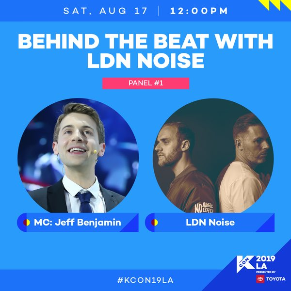 test Twitter Media - Exclusive: At the Behind the Beat With @LDNNOISE Panel at #KCON19LA. LDN Noise (producers behind recent hits by SHINee, EXO, Red Velvet, ASTRO, NCT) revealed that they produced Super M's upcoming single and it's mostly in English. https://t.co/8KR2YpyeWp