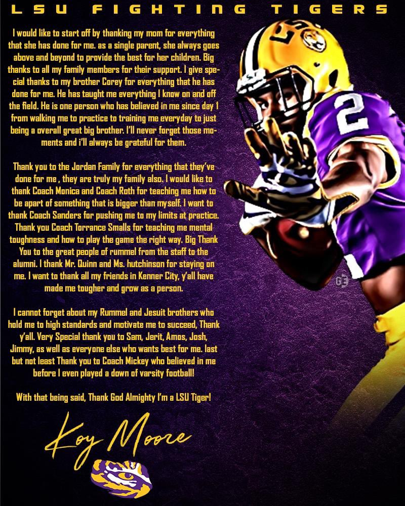 RT @asap_koy: Thank God Almighty.. I'm a Tiger 🐅 #GeauxTigers 💛💜 #Committed https://t.co/bmsAIgGiWS