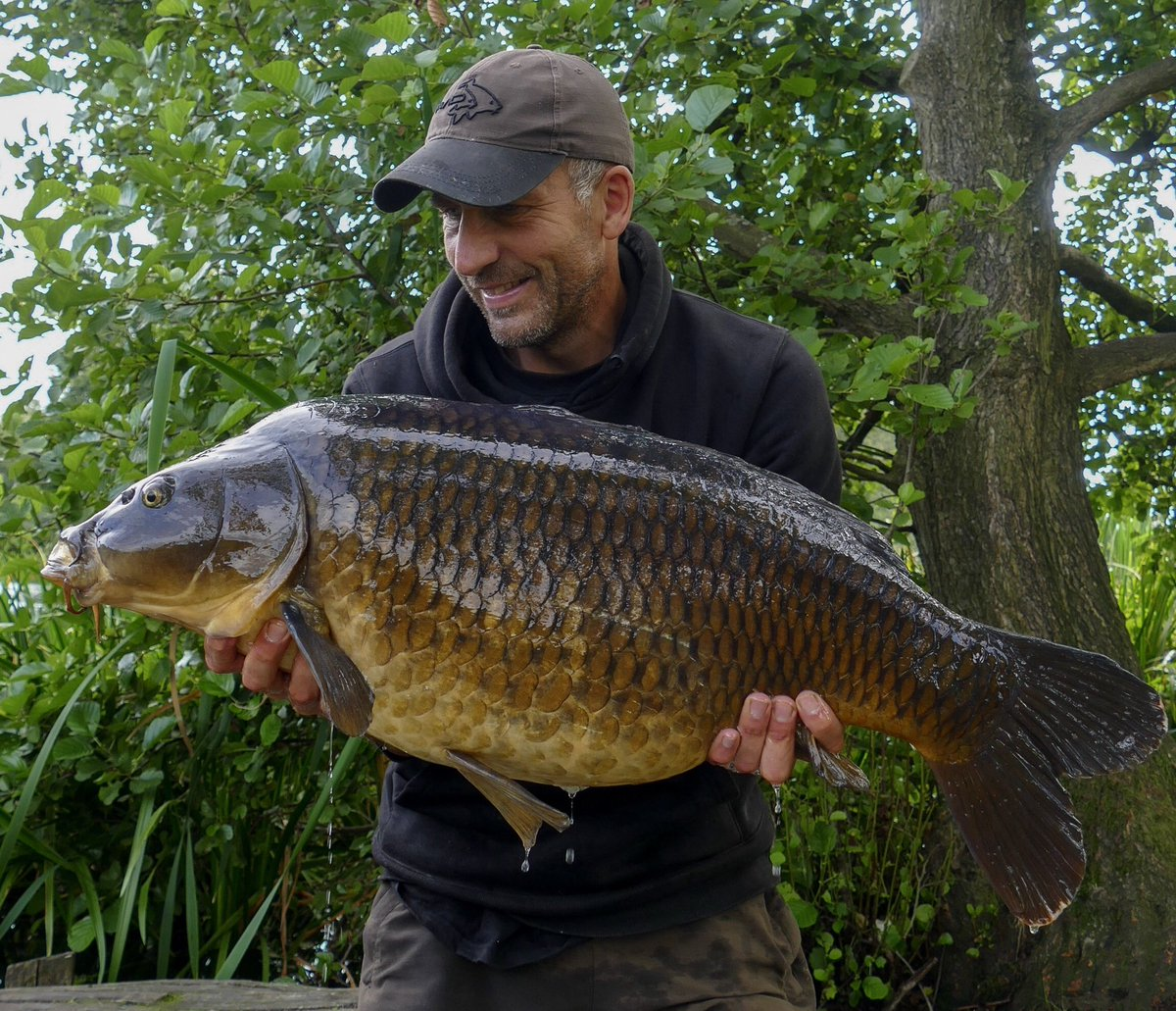 One of Weston's big <b>Common</b>s caught off the top last week on DNA Floaters & 10lb Avid Zi