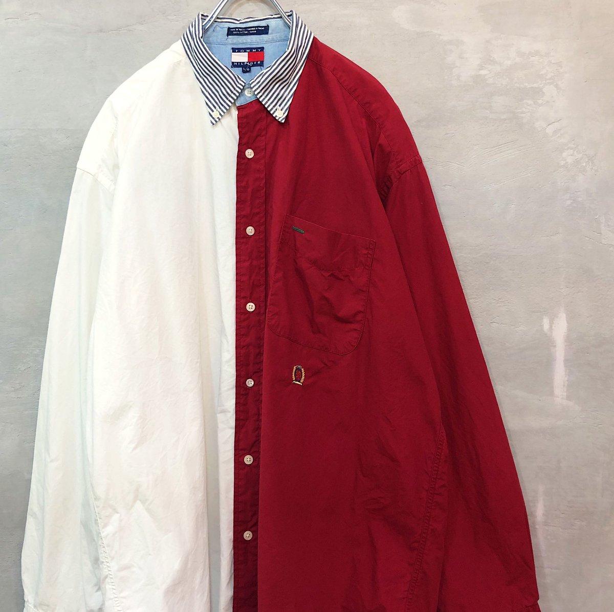 test ツイッターメディア - 店舗にて、 TOMMY の90'sシャツが大量入荷しました❗️ どれもイッテンモノですので、お探しの方はお早めに💨💨  #久留米 #福岡 #佐賀 #熊本 #大分 #古着 #古着屋 https://t.co/XjHHn7Bsg1