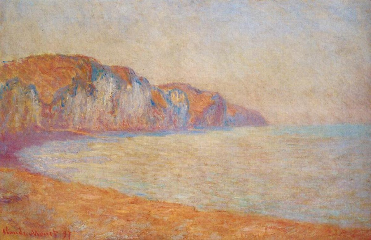 RT @artistmonet: Cliff at Pourville in the Morning, 1897 #impressionism #claudemonet https://t.co/ddD1TtQwlK
