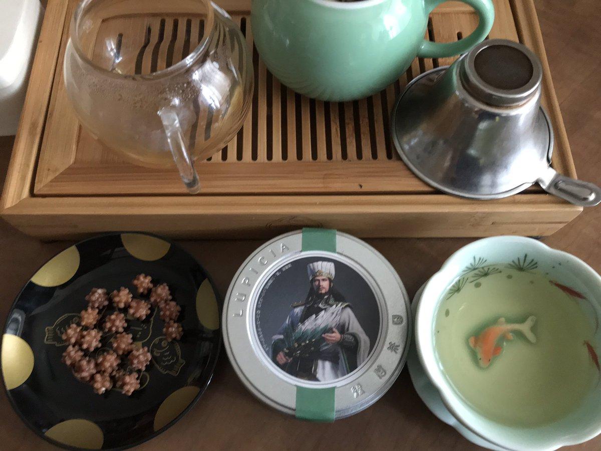 test ツイッターメディア - 今日も暑かったので暑さに負けぬためにお茶を楽しみました。三国志展で購入したフレーバーティー、桃の華やかな香りとすっきりとした飲み心地がたまりません。美味しいのでまた買いに行きます!お茶のお供は京都の緑寿庵清水さんの烏龍茶の金平糖。銀座店があるのは嬉しいv烏龍茶の金平糖も嬉しい! https://t.co/gk8GuuOin0