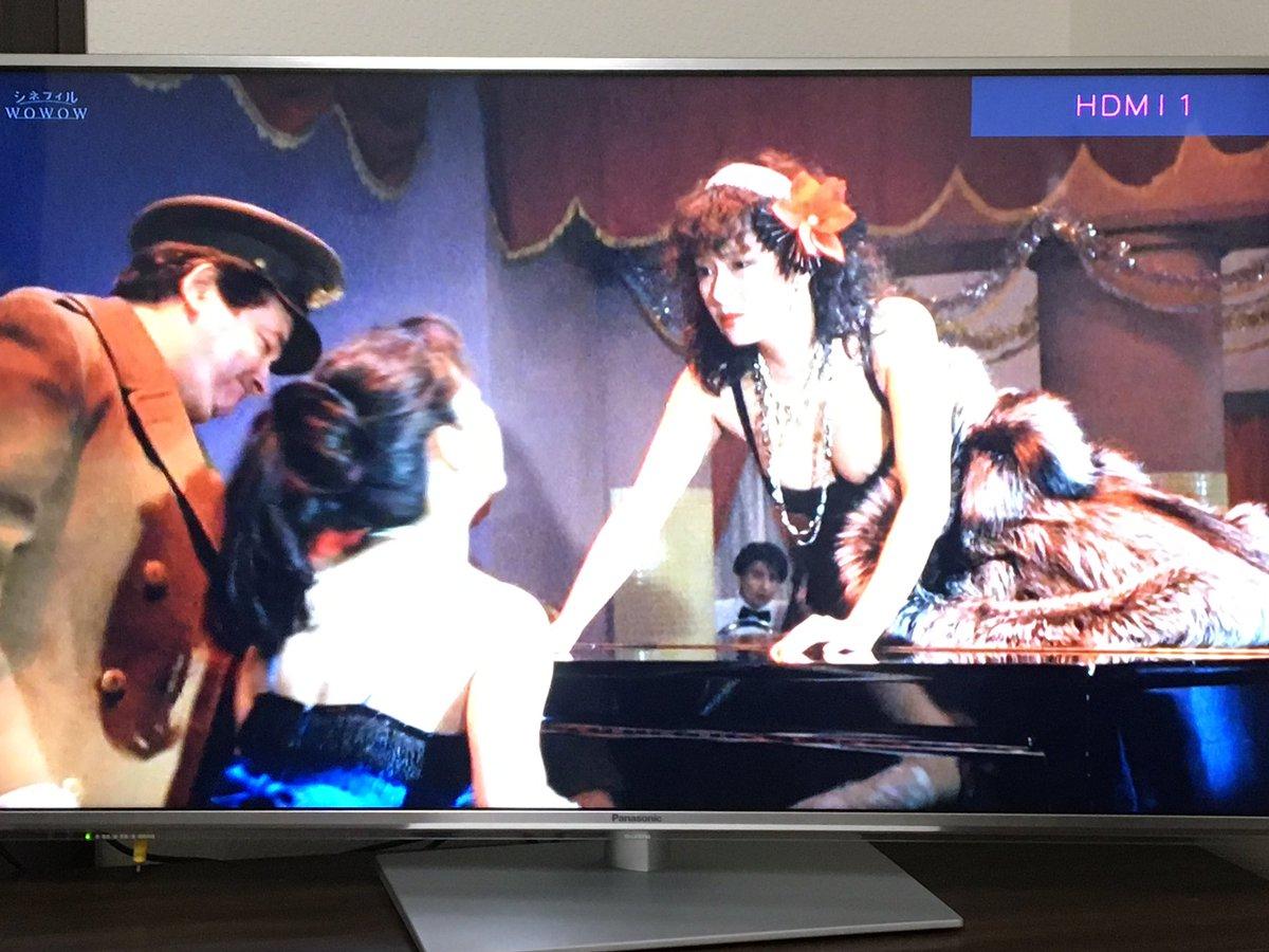 test ツイッターメディア - ひかりTVで #肉体の門 鑑賞。  久しぶりに観たら、舞台劇みたいで面白かったわー!  かたせ梨乃と名取裕子のダンスなんて、ベルトルッチ「暗殺の森」を思わせる。  「金さえ払えば、みんなお客さんだよ。遠慮しないで突撃しな」  最高(笑) https://t.co/OVw4jmtWgk