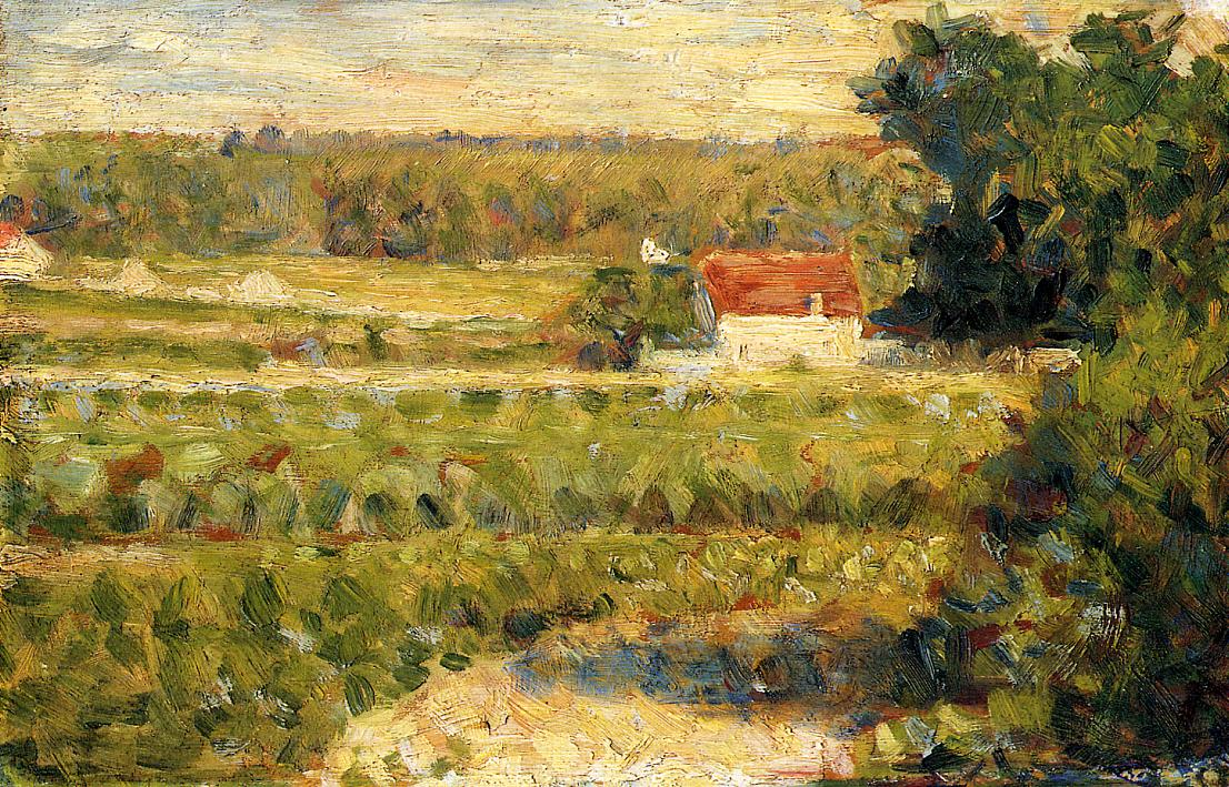 RT @artistseurat: House with Red Roof, 1883 #impressionism #frenchart https://t.co/TM9AtH5NqL