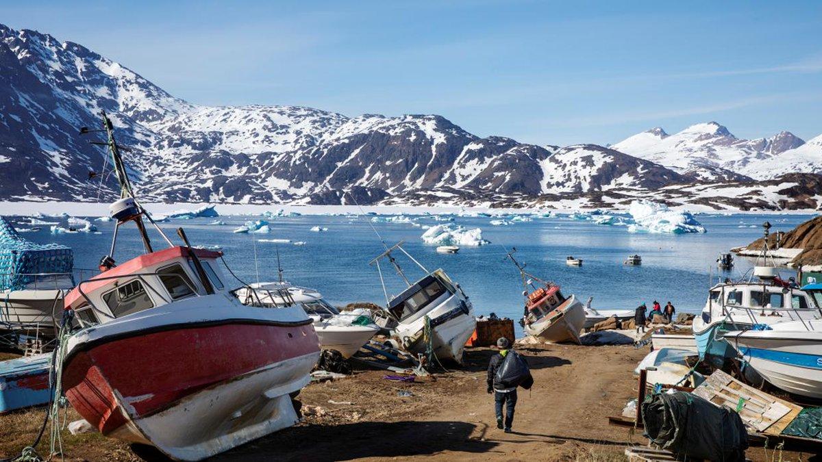 Greenland buy isn't a joke & Trump's actually 'looking at it -