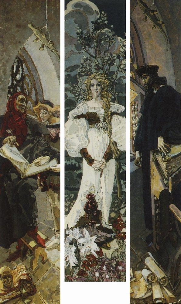 RT @vrubelmikhail: Faust, 1896 #artnouveau #vrubel https://t.co/zMLHQPDuWP
