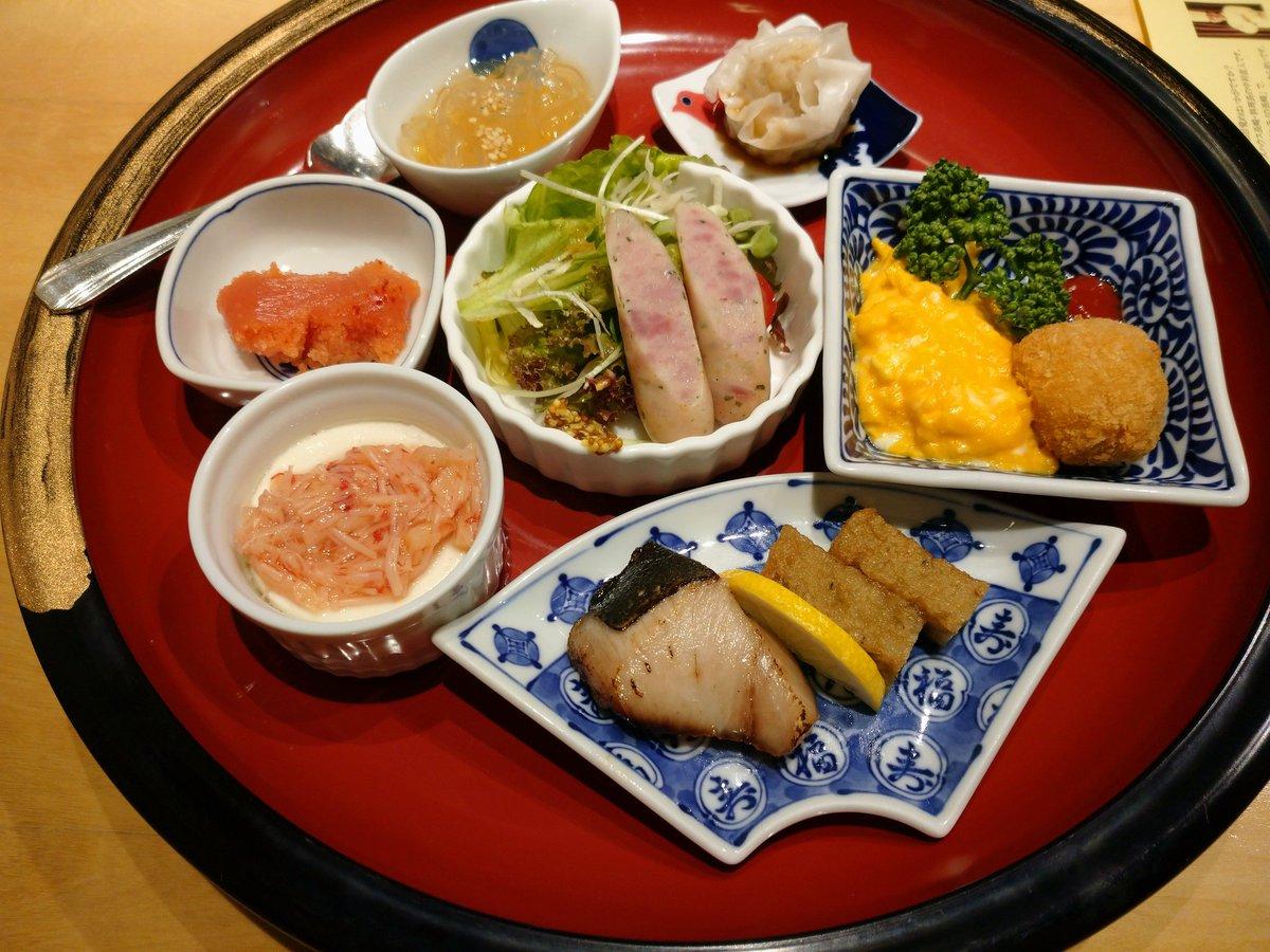 test ツイッターメディア - ホテルの朝食は和洋華を楽しめるもので美味しくいただきました😊 帰る前に五島うどんで食べ納め! 美味しいものを沢山食べてグルメな旅になりました😆 お土産に松翁軒のカステラをゲット 家でも長崎の味を楽しんでいます。 https://t.co/yfSU9JFNog