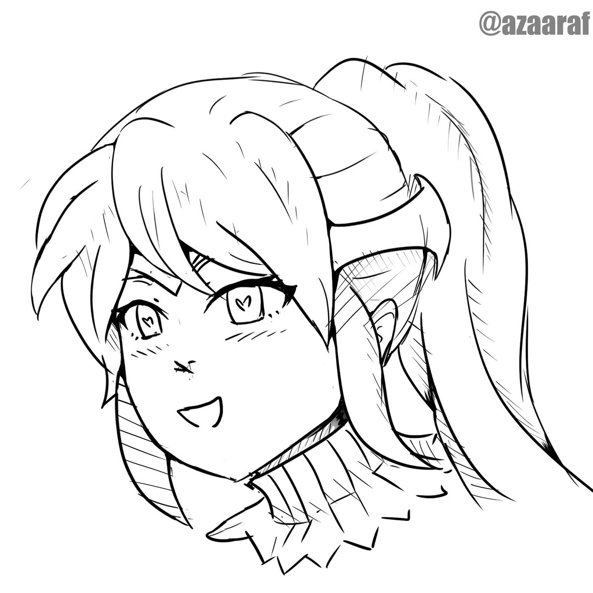 test Twitter Media - Just realized I never drew best girl Pyrrha so here's a quick ink sketch. #RWBY #RWBY7 https://t.co/6FT4a1Z4Vj