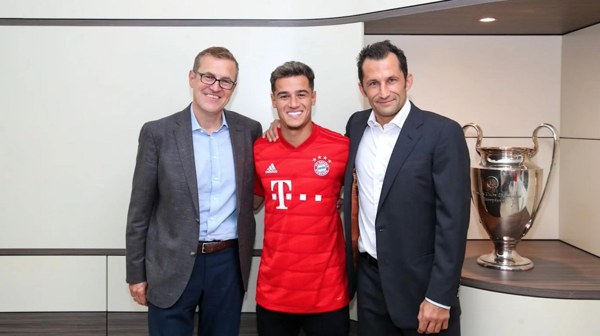 test Twitter Media - OFFICIAL: @FCBayern have confirmed Philippe Coutinho will wear the No.10 shirt for the 2019/20 season.  The first person to wear the No.10 shirt since Arjen Robben. https://t.co/zXsmwOskJC
