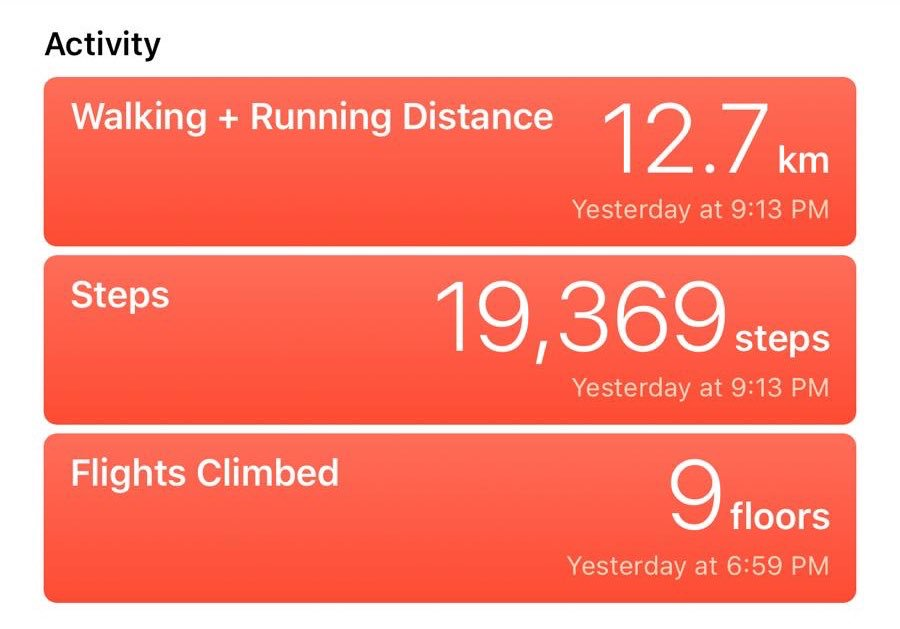 Only clocked 19K steps at pre build up yesterday. What are feet. #gamescom2019 https://t.co/EK1DRgBLNR