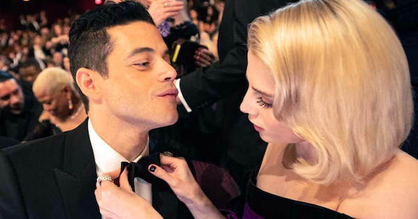Rami Malek and Lucy Boynton found each other to love. ??