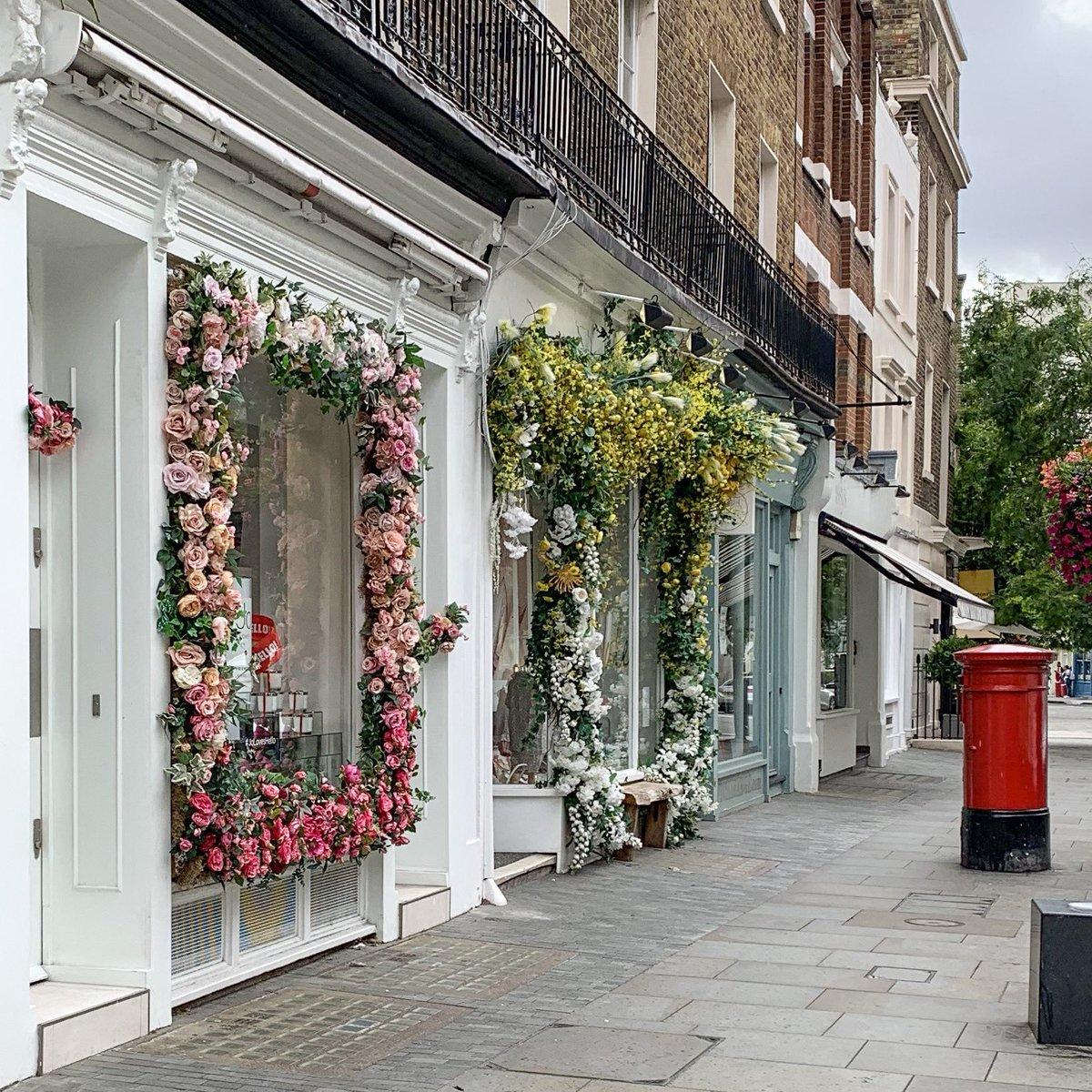 London's Elizabeth Street has such pretty flowers 💐 https://t.co/cYtPX8ugVh