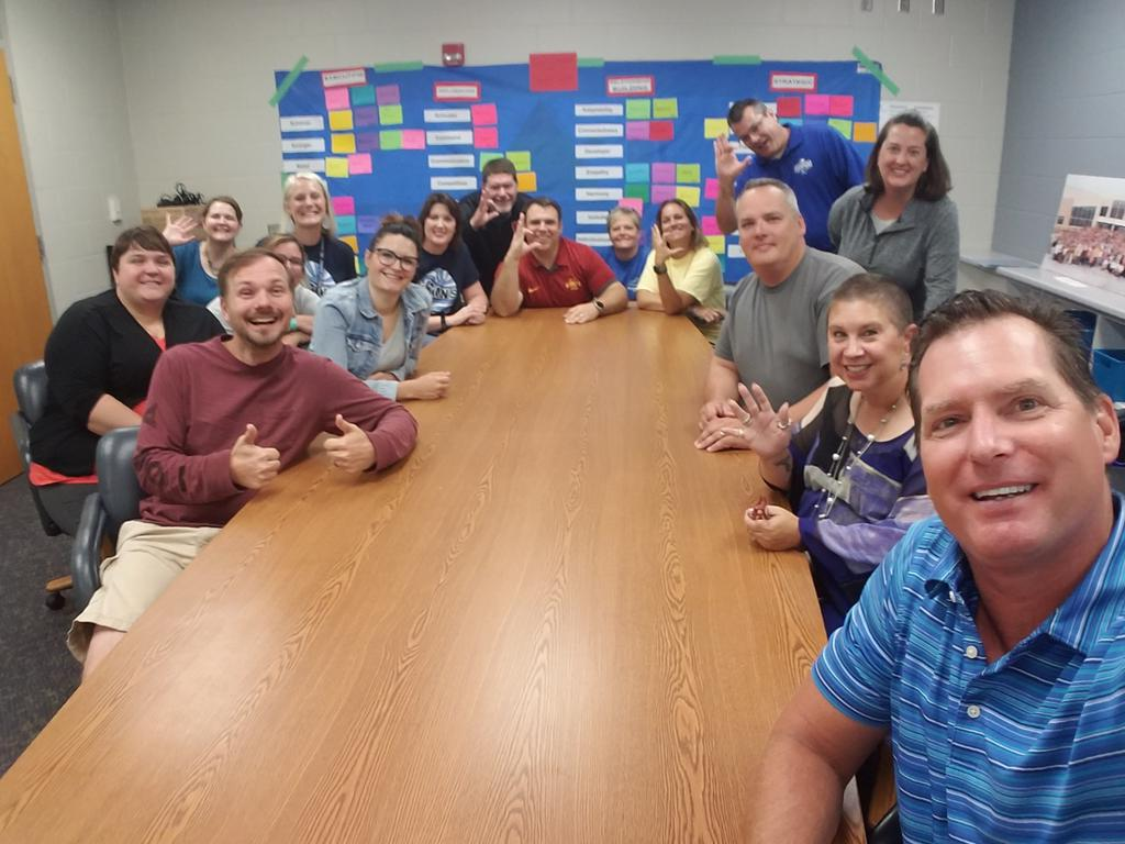 LCHS Building Leadership Team working to leverage our strengths to Inspire Excellence! in 2019-2020 #ExcellenceLC #LCTitans https://t.co/Doi53M4f3h