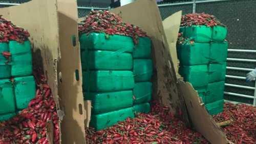 test Twitter Media - Nearly 4 tons of marijuana discovered inside shipment of jalapeños https://t.co/VsCyC0pfrm https://t.co/m3yj1qgBan