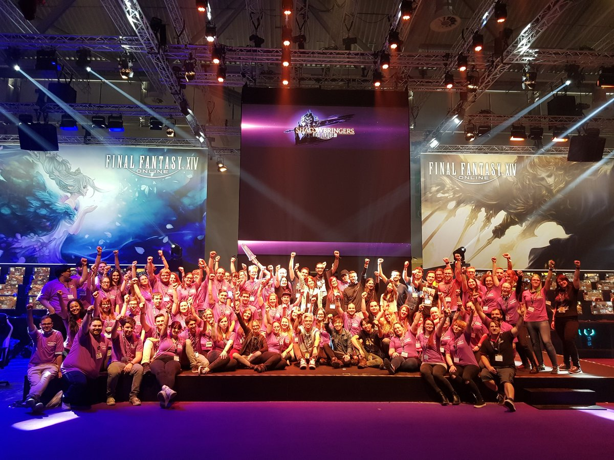 test Twitter Media - 🎊We are ready for #gamescom2019 ! See you tomorrow! #FFXIV full program available here : https://t.co/jpwXM2VcUY https://t.co/UiBkNlJocL