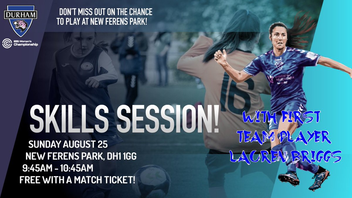 test Twitter Media - 🚨 CALLING ALL JUNIOR PLAYERS 🚨  We're holding another one of our popular Skills Sessions on Sunday - and it's FREE with a match ticket!  Even better, first-team player @laurenbriggsx will be in attendance!  Sign-up here 👉 https://t.co/utlKLOsuqC https://t.co/g7KwmblsUJ