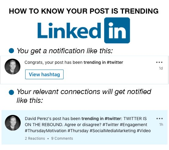 test Twitter Media - Recent post is trending on LinkedIn! Here's how to know if your post is trending on the platform.   Which posts of yours have performed best?  #Trending #LinkedIn #LinkedInStatistics #Viral #ViralMarketing #Blogs #Articles #Branding #Design #NJ  #NYC #Monday #MondayMotivation https://t.co/dar6zFTCly