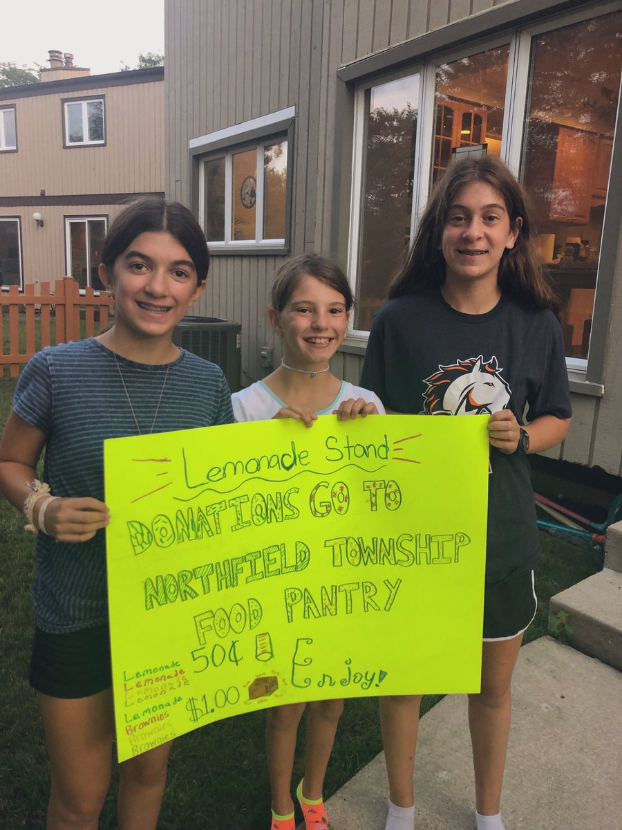 test Twitter Media - Lemonade stand tomorrow at 10:30 AM. Greenwood & Brian Drive. Donations to Northfield Food Pantry. #d30learns #backtoschooltraditions #newteacherbustour https://t.co/Ruc7fbV9bf