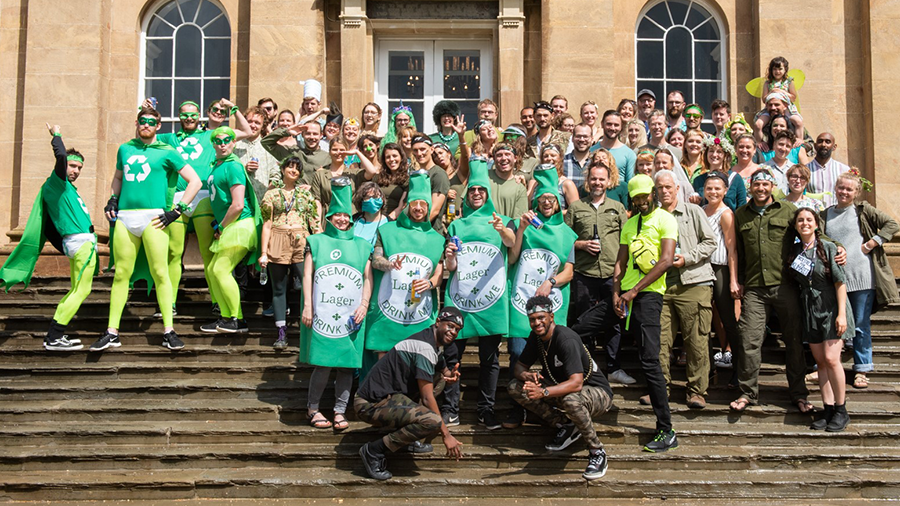 We embraced the sustainability spirit at our summer party with a 'green' theme - here's some of our Iconites' interpretations! #SustainableBristol https://t.co/pn7jbqXz8F