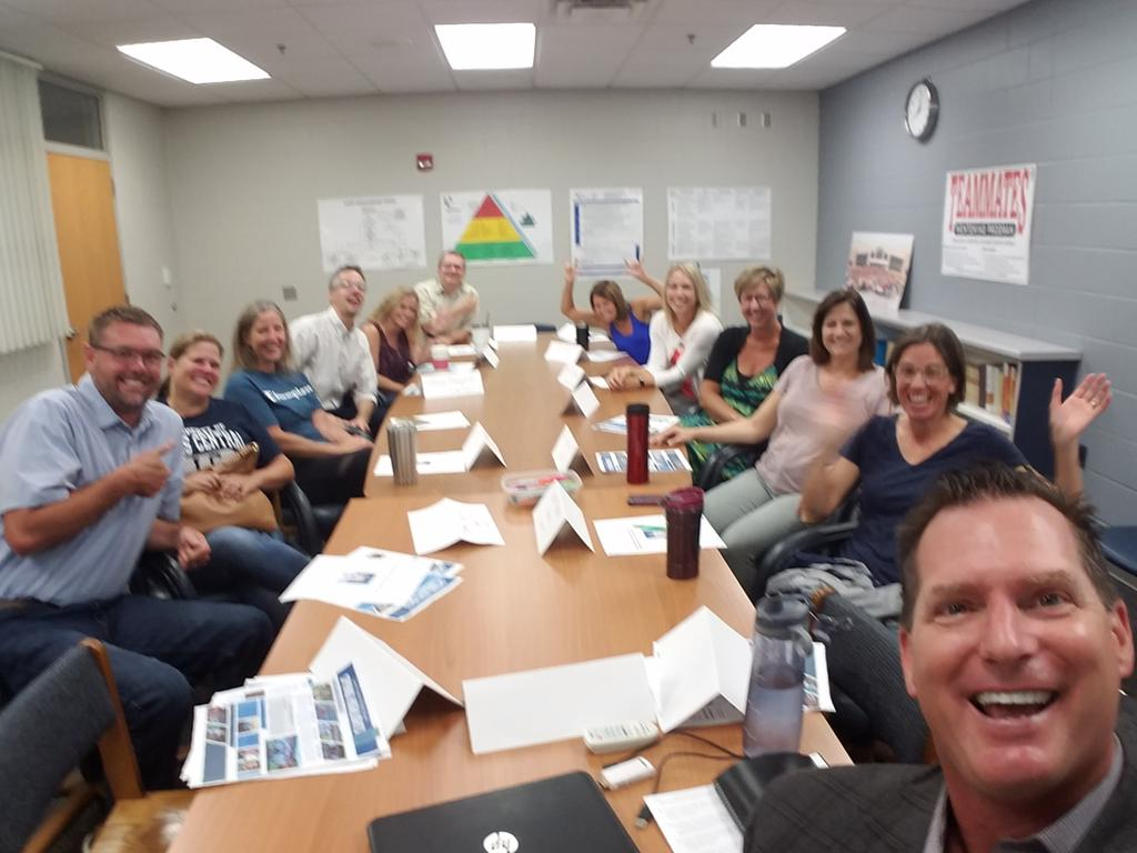 First Parent Input Group meeting of the year.  Look how excited folks are for a 7 a.m. meeting or maybe they were excited to know their kids come back to school on the 26th! #ExcellenceLC #LCTitans https://t.co/cy4hJCpfOx