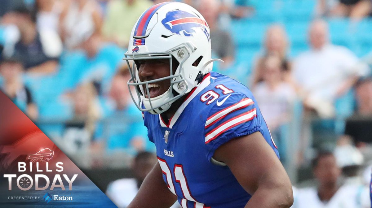Bills Today: ESPN votes Ed Oliver as the team's MVP of training camp