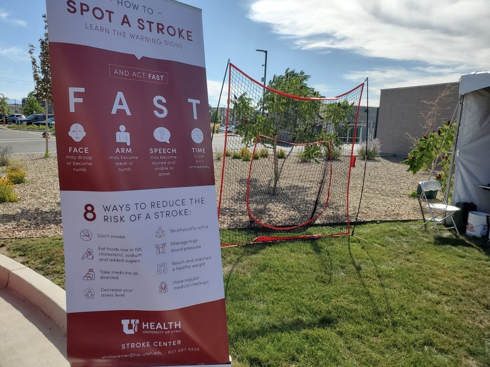 "test Twitter Media - @UofUCNC had a blast at the Farmington Station #BeWellUtah event last night! Looking forward to doing this again Saturday @Rice_Eccles 9AM-1PM! We hope to see ""U"" and the whole #family there! @UofUHealth @AHAUtah @UofU_Events #familyhealth #familyfun #neurology #stikeoutstroke https://t.co/QsJB8BSOMB"