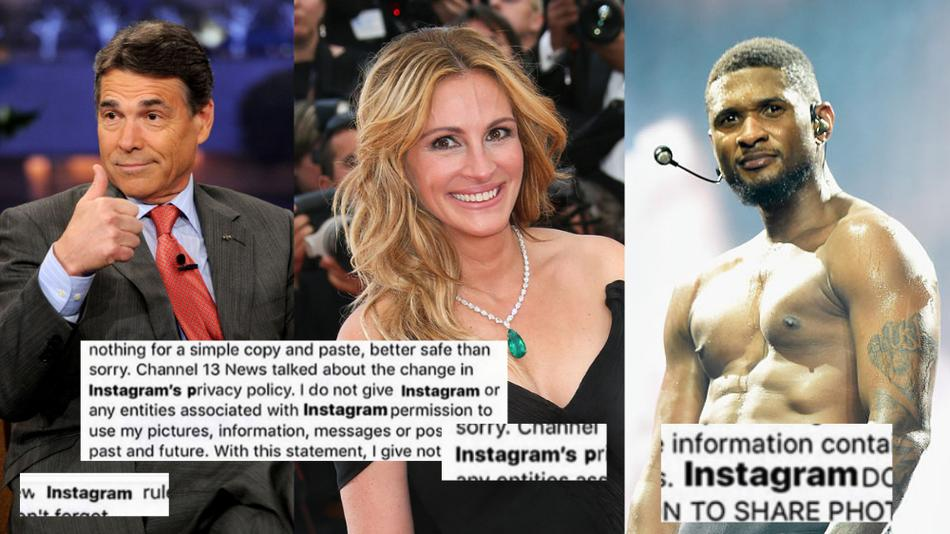 How did this ridiculous Instagram privacy hoax from 2012 fool so many stars?